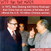 mao zedong offered 10 million chinese women to the