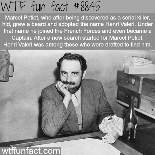 Marcel Petiot - WTF fun facts
