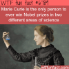 marie curie wtf fun fact