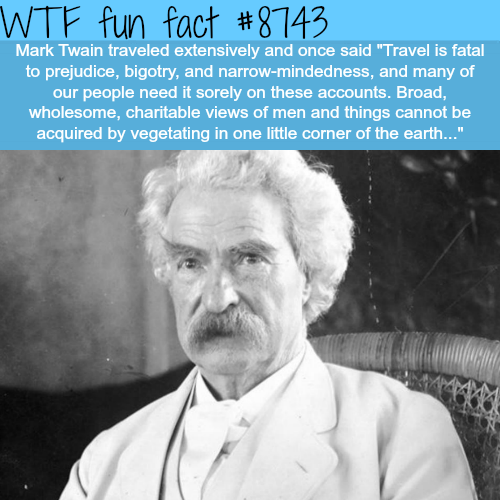 Mark Twain Quotes - WTF fun facts