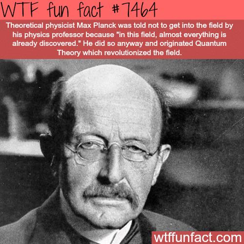 Max Planck- FACTS