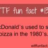 mcdonald pizza