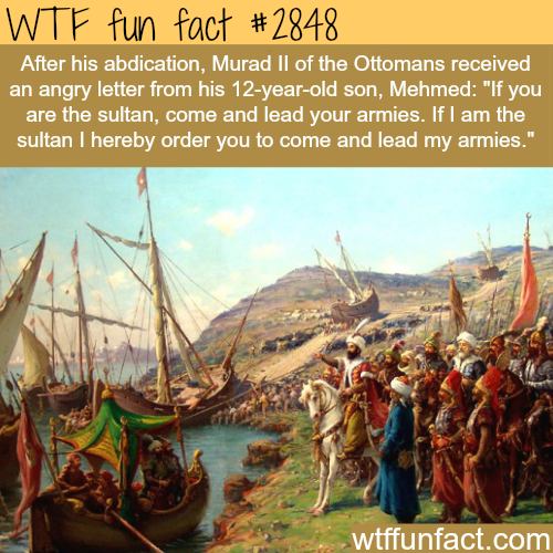 Mehmed The Conqueror Facts -  WTF fun facts