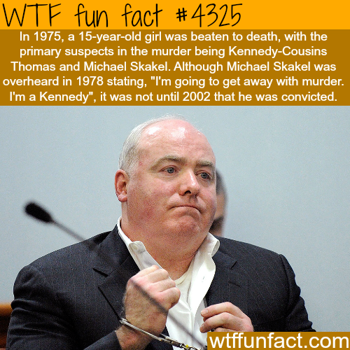 Michael Skakel and the murder of a 15 year-old girl -  WTF fun facts