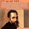 michelangelo and the pope wtf fun facts
