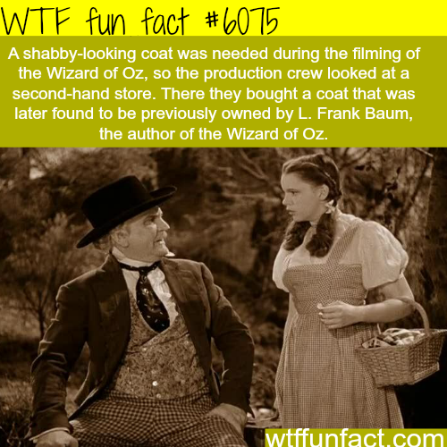 Mind-blowing coincidence - WTF fun facts