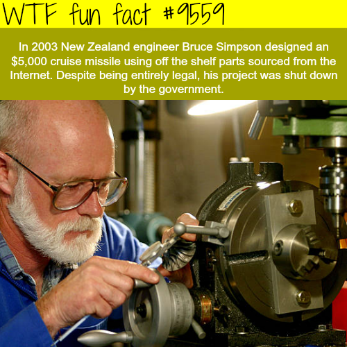 Missle Man - WTF fun fact