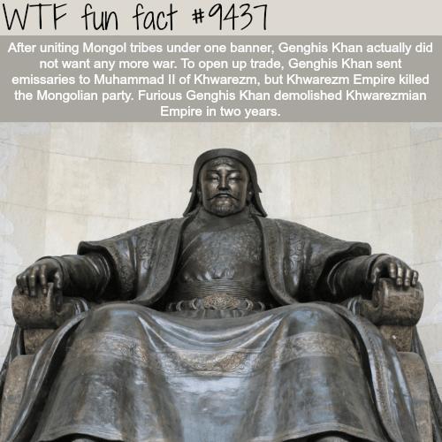 Mongolian Empire - WTF fun fact