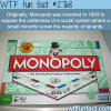 monopoly and the reason it was invented