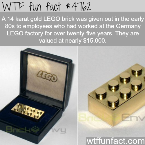 Most expensive LEGO bricks - WTF fun facts