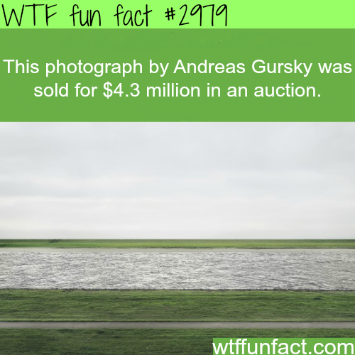 Most expensive photograph ever sold -WTF fun facts