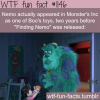 movies facts finding nemo in monsters inc