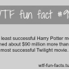 movies facts harry potter