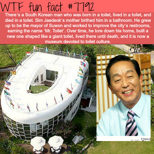 Mr. Toilet - WTF fun facts