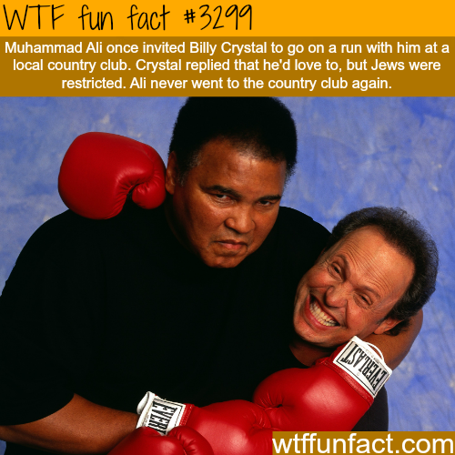 Muhammad Ali and Billy Crystal -WTF fun facts
