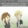 multilingual people switch personalities when they