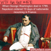 napoleon and george washington wtf fun facts