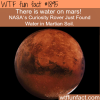 nasa found water on mars