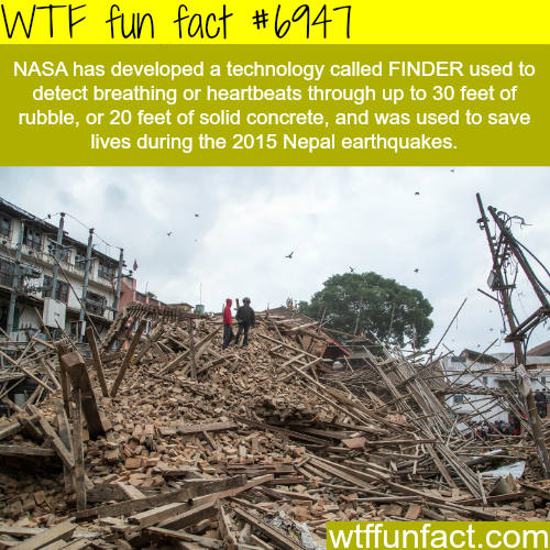 NASA's FINDER technology - WTF fun fact