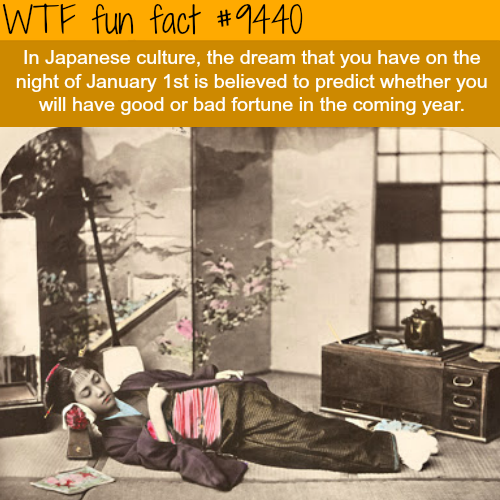 New Years Day Dream - WTF fun fact