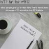 new years resolutions wtf fun fact