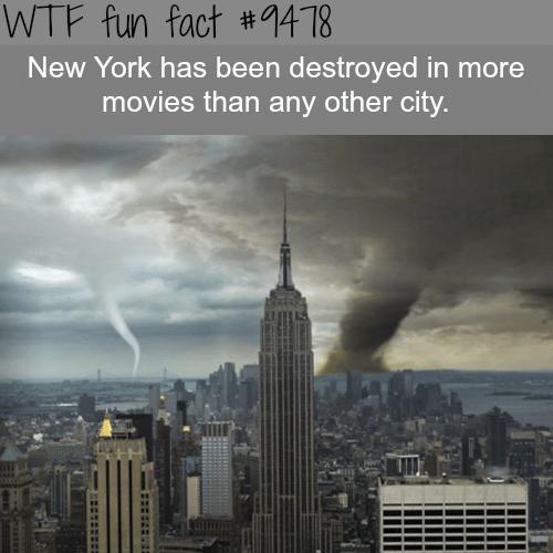 New York City - WTF fun fact