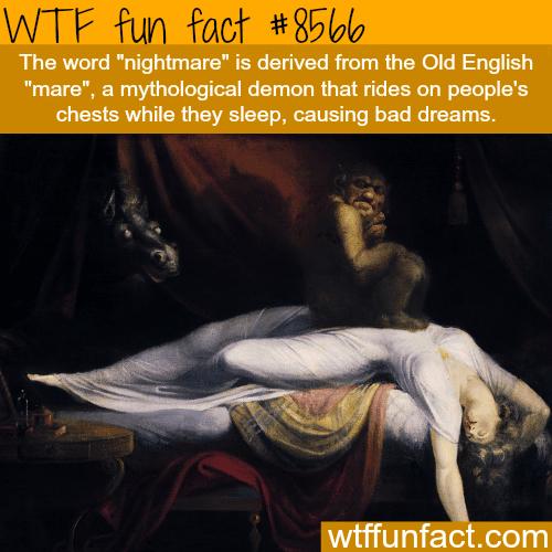 Nightmare - WTF fun facts