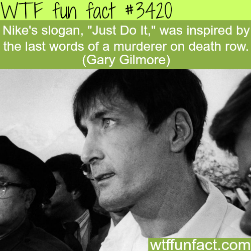 "Nike Slogan ""Just Do It"" inspiration -  WTF fun facts"
