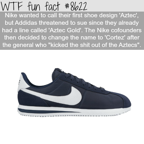 Nike's 'Cortez' - WTF fun facts