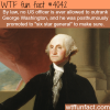 no one is allowed to outrank george washington