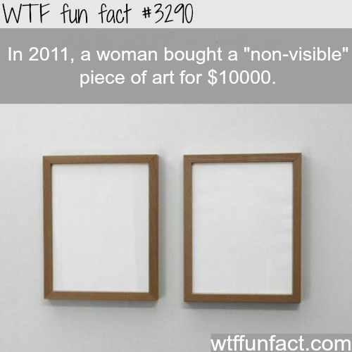 """""""Non-visible"""" art  -WTF fun facts"""