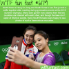 north and south korean olympic participants take
