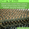 north korea s military power