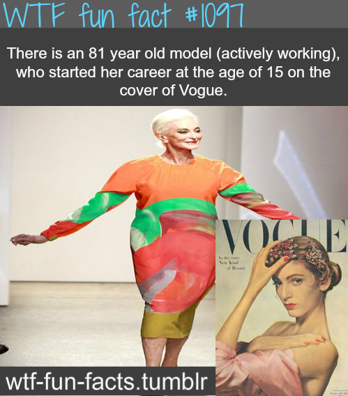 (source) - oldest model in the world