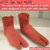 oldest socks in the world wtf fun facts