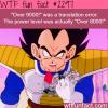 over 9000 is a translation error