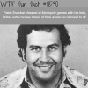 pablo escobar used to cheat on monopoly wtf fun