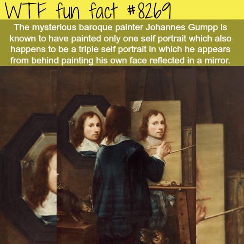 Painter Johannes Gumpp - WTF fun facts