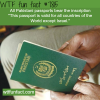 pakistani passport wtf fun facts