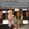 paris hilton s stolen birthday cake