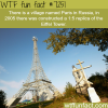 paris in russia wtf fun fact
