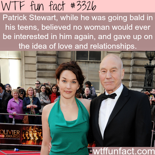 Patrick Stewart and his wife Sunny Ozell -WTF fun facts
