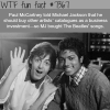 paul mccartney and michael jackson wtf fun facts
