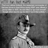 paul von lettow vorbeck wtf fun fact