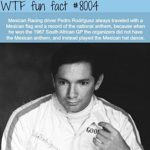 Pedro Rodriguez - WTF fun fact