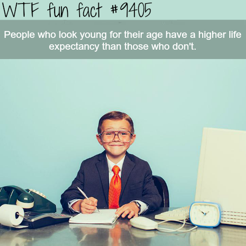 People who look young for their age - WTF fun facts