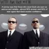 people who wear black wtf fun facts