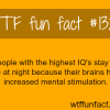 people with the highest iqs smart people facts
