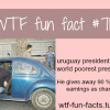 poorest president in the world