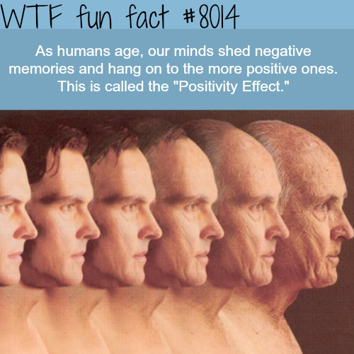Positivity Effect - WTF fun fact